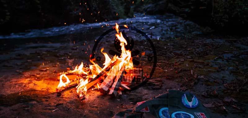 Feuer im Wald erlaubt?