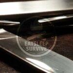 Slipjoint Taschenmesser ohne Verriegelung oder Arretierung